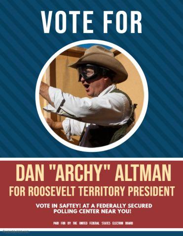 UFS ESR Election Poster