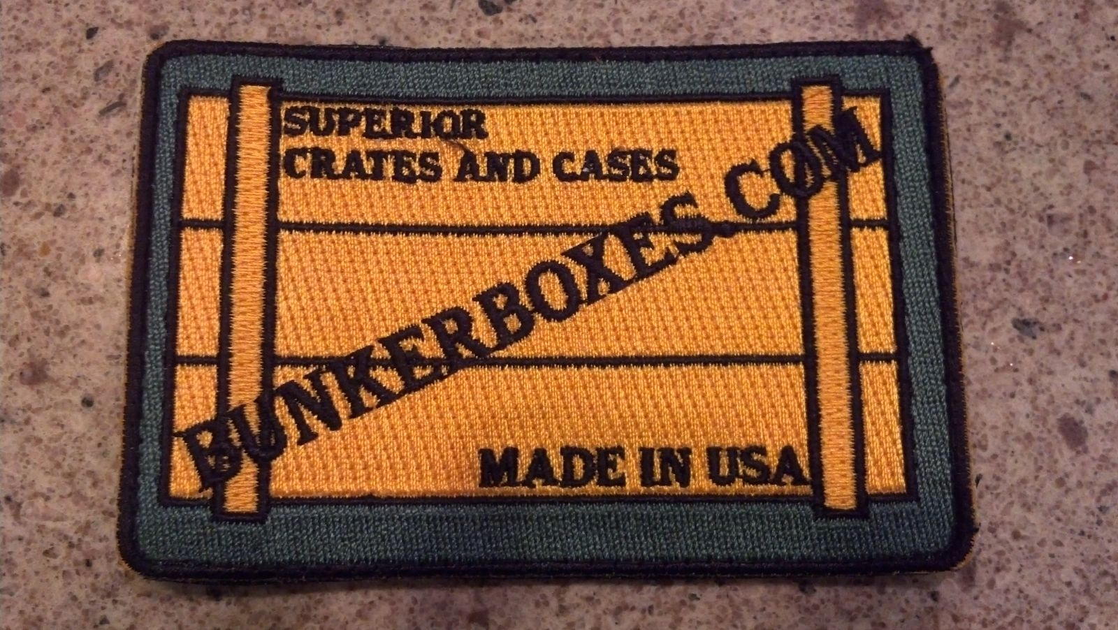 Bunker Boxes Patch