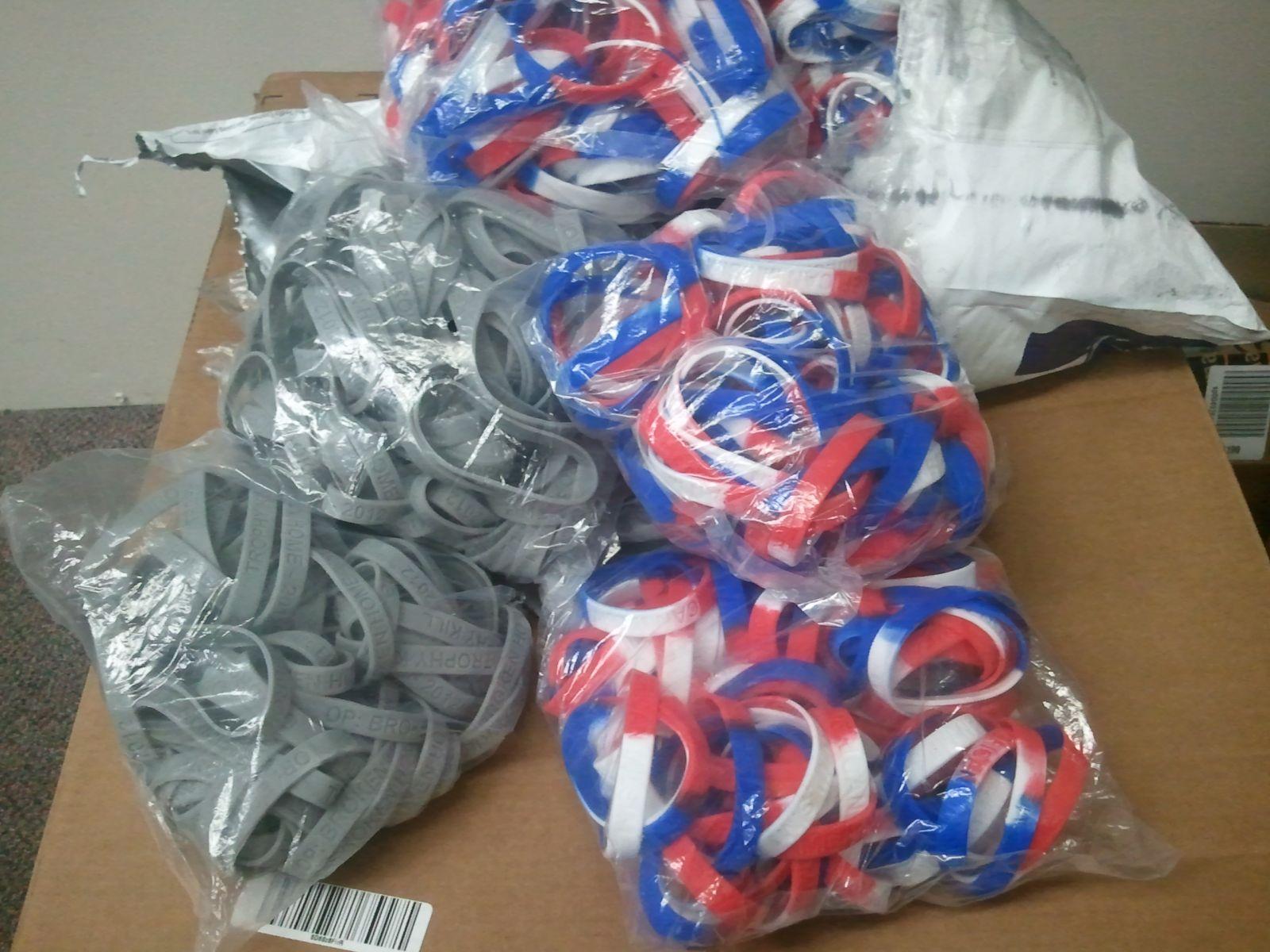Bracelets....