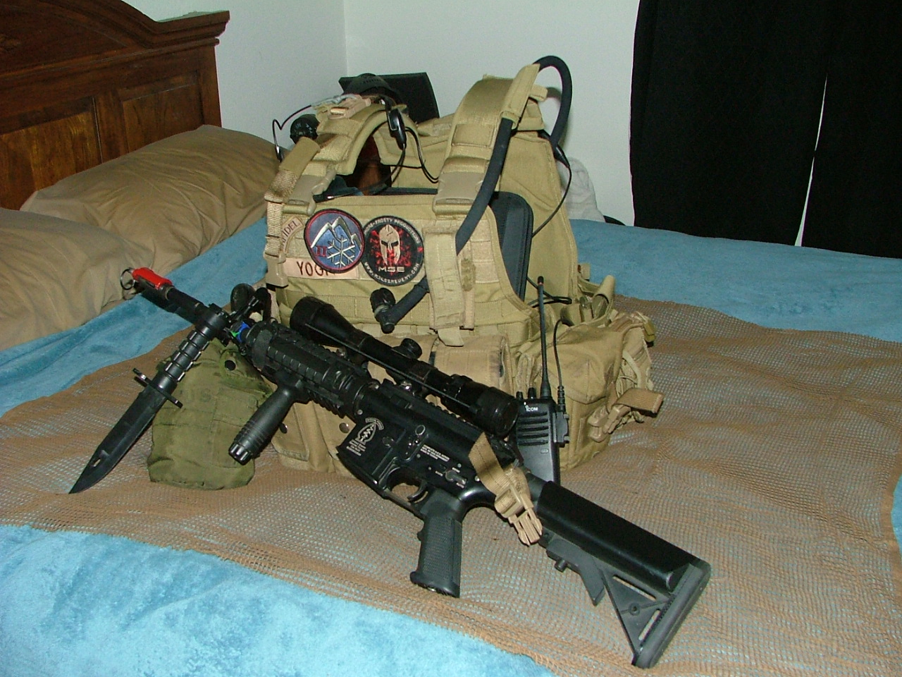 G&G M4 RIS with Plate Carrier